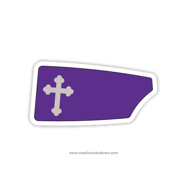 Academy of the Holy Cross Oar Sticker (MD)