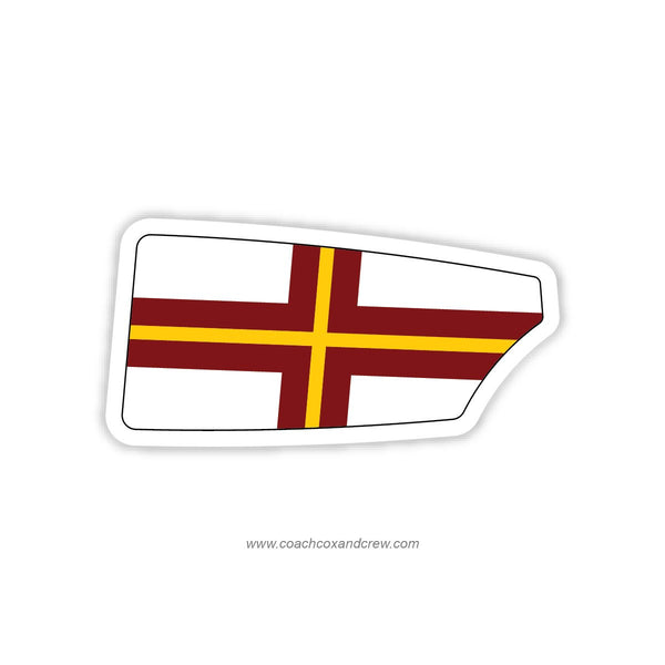 Advanced Community Rowing Association Oar Sticker (NY)