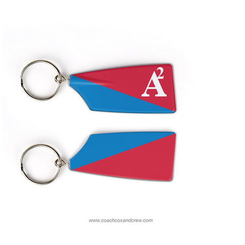 Ann Arbor Rowing Club Rowing Team Keychain (MI)