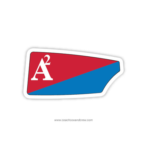 Ann Arbor Rowing Club Oar Sticker (MI)