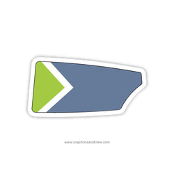 Arch City Rowing Club Oar Sticker (OH)