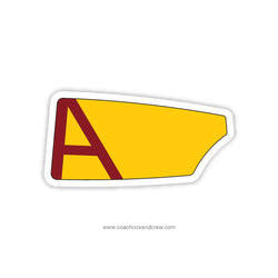Arlington High School Oar Sticker (NY)