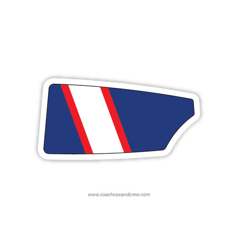 Atlanta Junior Rowing Association Oar Sticker (GA)