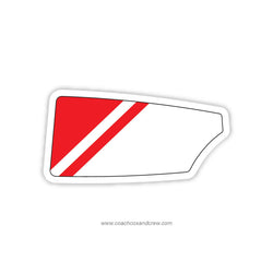 Atlanta Rowing Club Oar Sticker (GA)