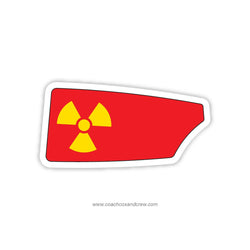 Atomic Rowing Men Oar Sticker (TN)