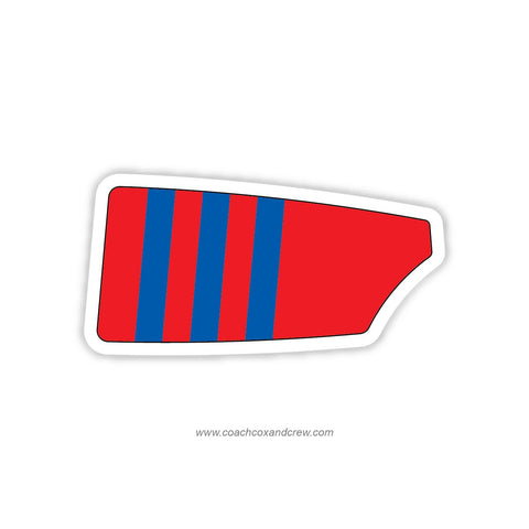 Bachelors Barge Club Oar Sticker (PA)
