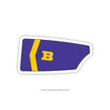 Ballston Spa High School Oar Sticker (NY)