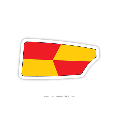 Bay Area Rowing Club of Houston Oar Sticker (TX)