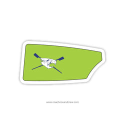 Beaver Creek Sculling Oar Sticker (VA)