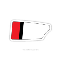 Bedford Crew Club Oar Sticker (NH)