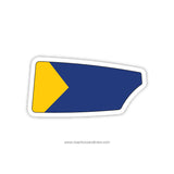 Bethesda Chevy Chase Crew Oar Sticker (MD)