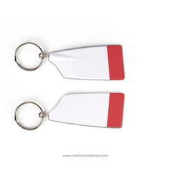 Big Red Crew Rowing Team Keychain (WV)
