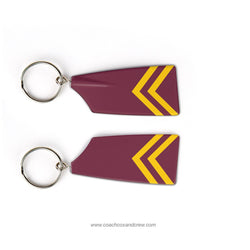 Bishop Ireton HS Crew Rowing Team Keychain (VA)