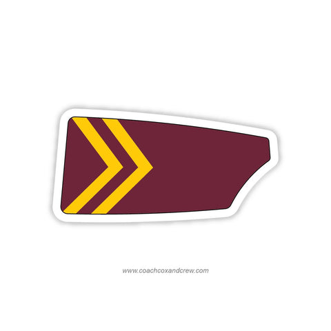 Bishop Ireton HS Crew Oar Sticker (VA)