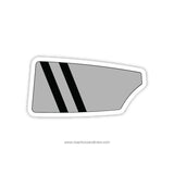 Black Swamp Rowing Oar Sticker (OH)