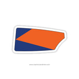 Bolles School Men Oar Sticker (FL)