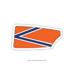 Bolles School Women Oar Sticker (FL)