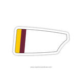 Boston College High School Oar Sticker (MA)