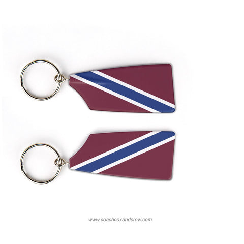 Brewster Academy Crew Rowing Team Keychain (NH)