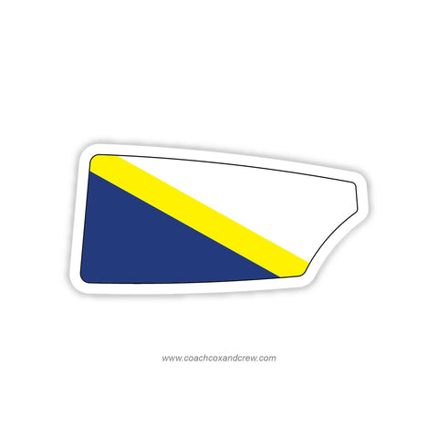 Brighton Rowing Club Oar Sticker (NY)