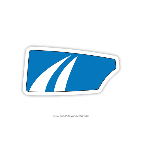 Bromfield Acton Boxborough Rowing Oar Sticker (MA)