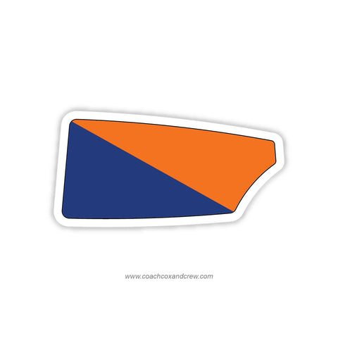 Bucknell University Oar Sticker (PA)