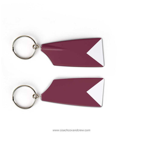 Burnt Hills Rowing Association Rowing Team Keychain (NY)