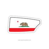 California Rowing Club Oar Sticker (CA)