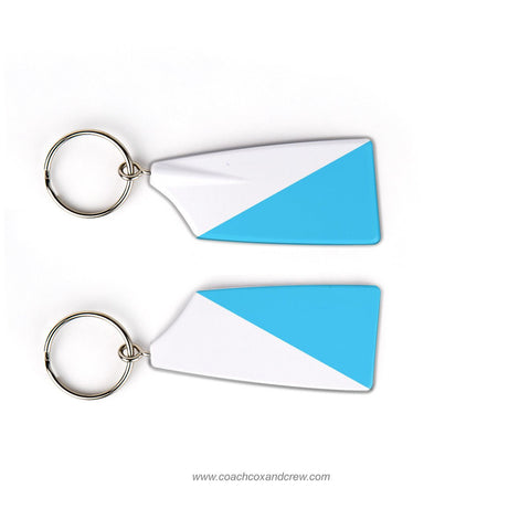 Carolina masters Crew Rowing Team Keychain (NC)