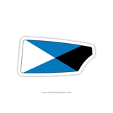 Case Western Oar Sticker (OH)