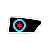 Chicago Rowing Foundation Oar Sticker (IL)