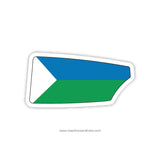 Cincinnati Junior Rowing Club Oar Sticker (OH)