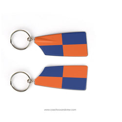 Clemson Univ Rowing Association Rowing Team Keychain (SC)