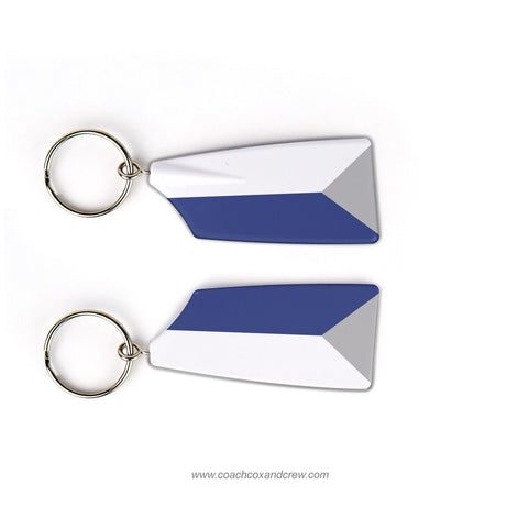Colby College Rowing Team Keychain (ME)