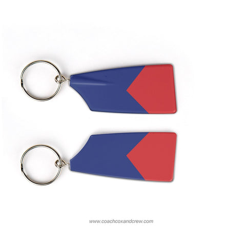 College Boat Club Rowing Team Keychain (PA)