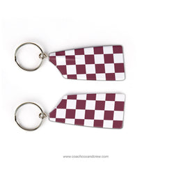College of Charleston Rowing Team Keychain (SC)