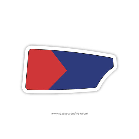 College Boat Club Oar Sticker (PA)