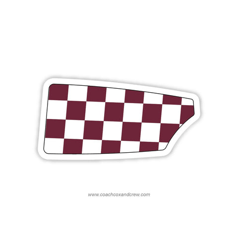 College of Charleston Oar Sticker (SC)