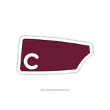 Concord High School Oar Sticker (DE)