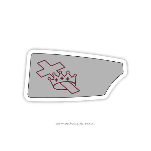 Concordia Lutheran Oar Sticker (IN)