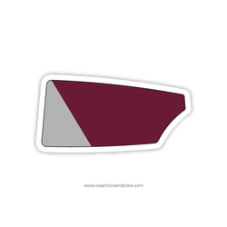 Conestoga Crew Club Oar Sticker (PA)