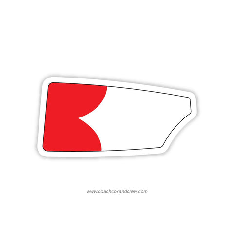 Cornell University Oar Sticker (NY)