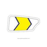 Crestwood High School Oar Sticker (MI)
