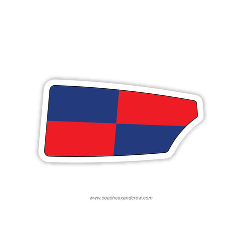 Crystal Lake Rowing Club Oar Sticker (IL)