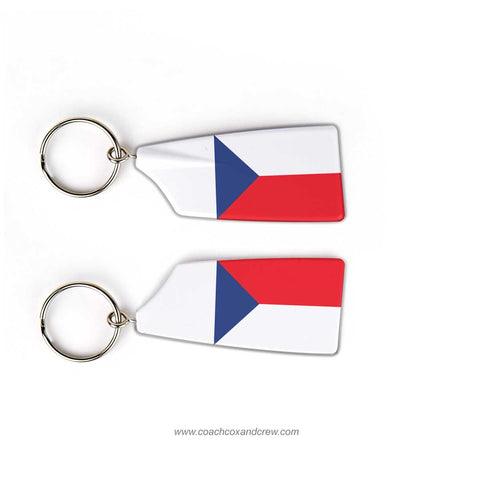 Czech Republic National Rowing Team Keychain
