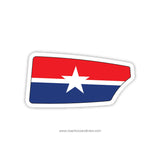 Dallas Rowing Club Oar Sticker (TX)