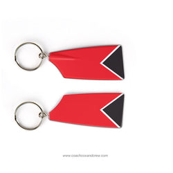 Davidson College Crew Rowing Team Keychain (NC)