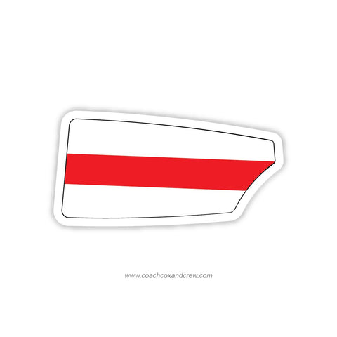 Denmark National TeamOar Sticker