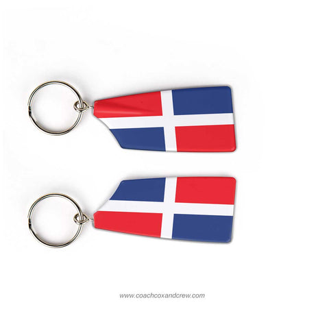 Dominican Republic National TeamRowing Team Keychain