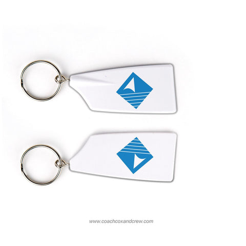 Duxbury Bay Maritime School Rowing Team Keychain (MA)